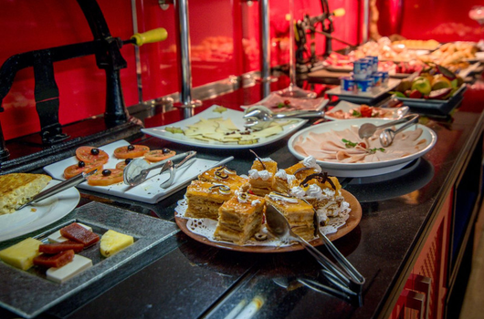 Take advantage of our free breakfast buffet and give yourself ...