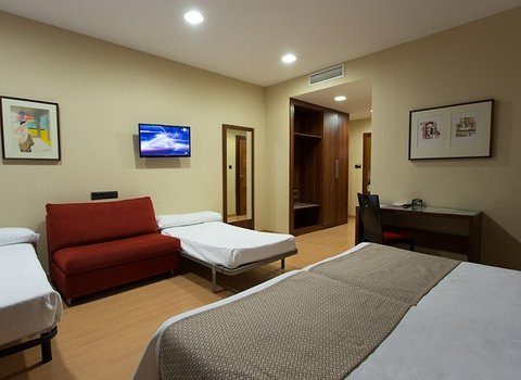Spacious rooms with a maximum capacity for 4 people